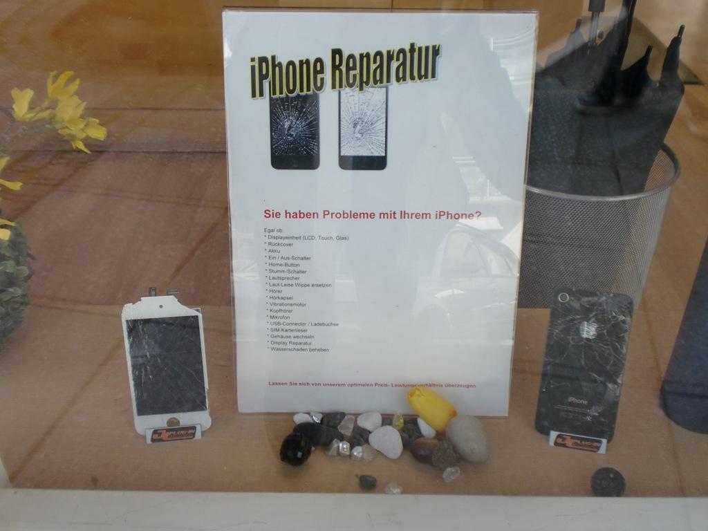 Ist Ihr Smartphone defekt? = Smartphone Dr.